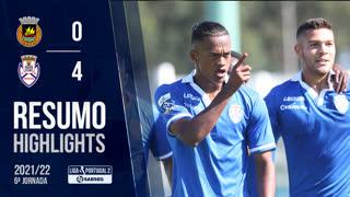 Liga Portugal SABSEG (6ª Jornada): Resumo Rio Ave FC 0-4 CD Feirense