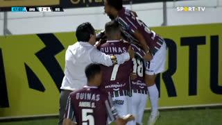 GOLO! Estrela Amadora, Diogo Pinto aos 7', Estrela Amadora 2-0 Ac. Viseu