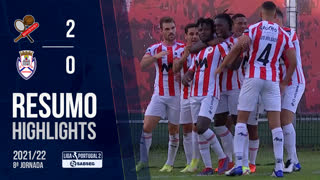 Liga Portugal SABSEG (8ª Jornada): Resumo Leixões SC 2-0 CD Feirense
