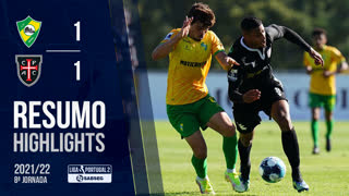 Liga Portugal SABSEG (8ª Jornada): Resumo CD Mafra 1-1 Casa Pia AC