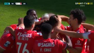GOLO! SL Benfica B, C. Ndour aos 2', SC Farense 0-1 SL Benfica B