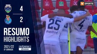 Liga Portugal SABSEG (6ª Jornada): Resumo GD Chaves 4-2 FC Porto B