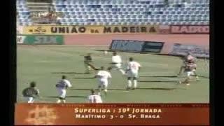 GOLO! Marítimo M., Mitchell aos 1', Marítimo M. 1-0 SC Braga