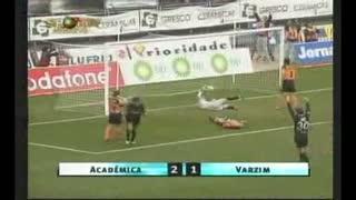 GOLO! A. Académica, Sérgio Carvalho aos 27', A. Académica 2-0 Varzim SC