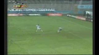 U. Leiria, golo M.Santos, 43 min, 1-3