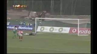 Sp. Braga, golo Arrieta, 86 min, 1-2