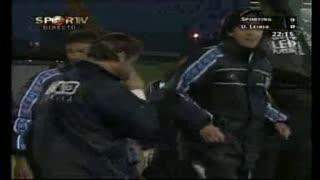 GOLO! U. Leiria, Maciel aos 23', Sporting CP 0-1 U. Leiria