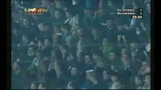 GOLO! Gil Vicente FC, Gaspar aos 39', Gil Vicente FC 2-1 Belenenses