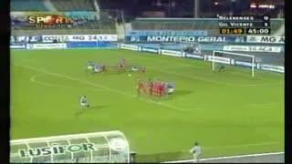 GOLO! Belenenses, Antchouet aos 47', Belenenses 1-1 Gil Vicente FC