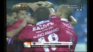 GOLO! Gil Vicente FC, Luís Loureiro aos 9', Gil Vicente FC 1-0 Belenenses