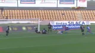 GOLO! Alverca, Alex Afonso aos 13', Alverca 1-0 A. Académica