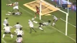 Sporting, golo Liedson, 24 min, 0-2