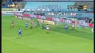GOLO! Belenenses, Sandro Gaúcho aos 16', Belenenses 1-0 SC Braga