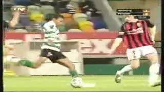 Sporting, golo Nani, 14 min, 1-0