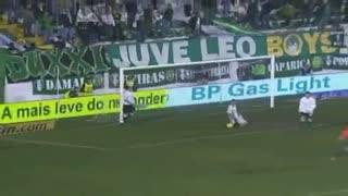 GOLO! E. Amadora, Anselmo aos 5', E. Amadora 1-0 Sporting CP