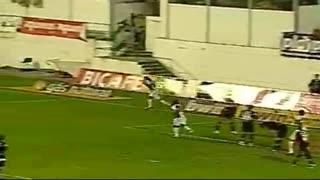 GOLO! E. Amadora, Anselmo aos 90', E. Amadora 1-0 Vitória SC