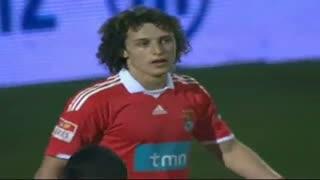 GOLO! Vitória FC, David Luiz (p.b.) aos 37', Vitória FC 1-1 SL Benfica