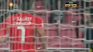 GOLO! SL Benfica, Cardozo aos 25', SL Benfica 1-0 Beira Mar