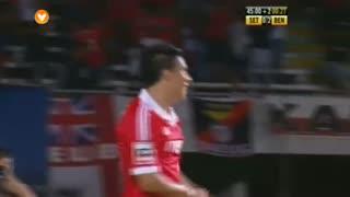 GOLO! SL Benfica, Enzo Pérez aos 45', Vitória FC 0-3 SL Benfica