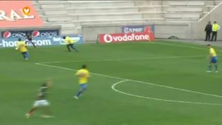 GOLO! Marítimo M., Sami aos 9', Marítimo M. 1-0 Estoril Praia