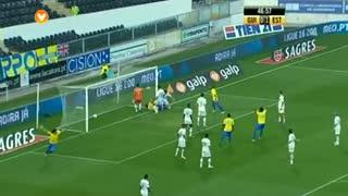 GOLO! Estoril Praia, Bruno Miguel aos 47', Vitória SC 0-2 Estoril Praia