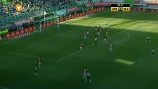 Sporting CP, Jogada, M. Rojo aos 32'