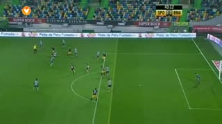 Sporting CP, Jogada, Rui Sampaio aos 43'