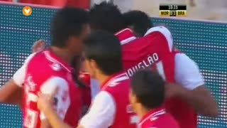 GOLO! SC Braga, Carlão aos 11', Moreirense FC 0-1 SC Braga