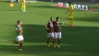 GOLO! Marítimo M., Roberge aos 41', Marítimo M. 1-0 Rio Ave FC