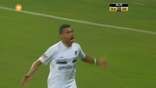 GOLO! Vitória SC, Soudani aos 41', SC Olhanense 0-2 Vitória SC
