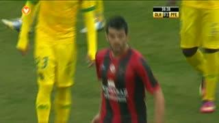 GOLO! SC Olhanense, Nuno Santos (p.b.) aos 39', SC Olhanense 1-1 ( FC P.Ferreira