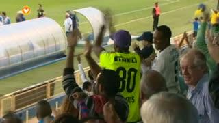 GOLO! Estoril Praia, Luís Leal aos 28', Estoril Praia 1-0 Marítimo M.