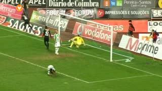 GOLO! A. Académica, Edinho aos 28', A. Académica 3-0 Vitória FC