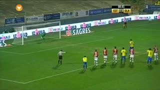 GOLO! Estoril Praia, Steven Vitoria aos 9', Estoril Praia 1-0 SC Olhanense