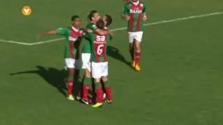 GOLO! Marítimo M., Adilson aos 9', Marítimo M. 1-0 SC Olhanense