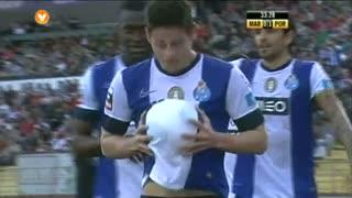 GOLO! FC Porto, James Rodríguez aos 33', Marítimo M. 0-1 FC Porto
