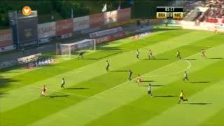 SC Braga, Jogada, Mossoró aos 2'