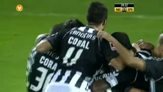 GOLO! CD Nacional, Isael aos 24', CD Nacional 1-0 Sporting CP