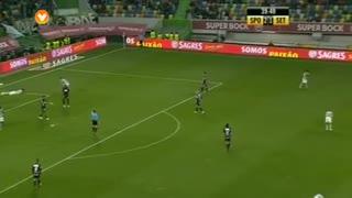 Sporting CP, Jogada, Capel aos 40'