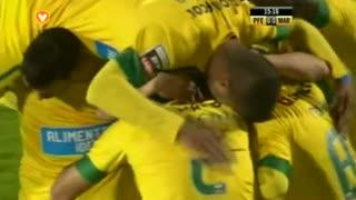 GOLO! FC P.Ferreira, Antunes aos 15', FC P.Ferreira 1-0 Marítimo M.