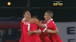 GOLO! SL Benfica, Rodrigo aos 14', Vitória FC 0-1 SL Benfica