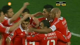 GOLO! SL Benfica, Cardozo aos 47', SL Benfica 2-0 FC P.Ferreira
