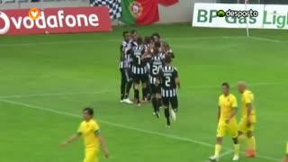 GOLO! CD Nacional, Claudemir aos 4', CD Nacional 1-0 FC P.Ferreira