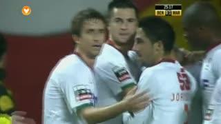 GOLO! Marítimo M., Rodrigo Antônio aos 25', SL Benfica 0-1 Marítimo M.