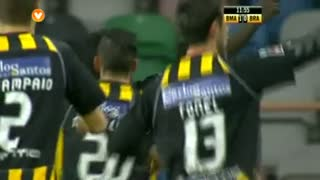 GOLO! Beira Mar, Yazalde aos 12', Beira Mar 1-0 SC Braga