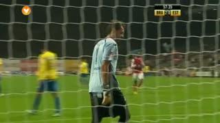 GOLO! SC Braga, Mossoró aos 61', SC Braga  Estoril Praia