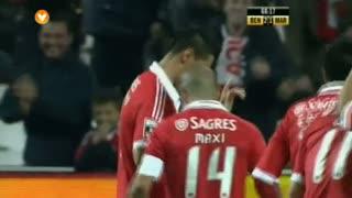 GOLO! SL Benfica, Cardozo aos 69', SL Benfica 3-1 Marítimo M.