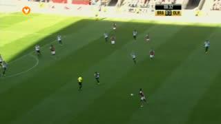 GOLO! SC Braga, Hélder Barbosa aos 9', SC Braga 1-1 SC Olhanense