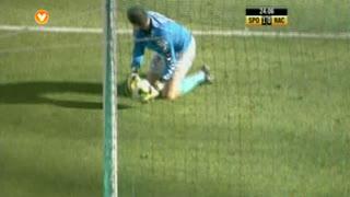 Sporting CP, Jogada, Capel aos 24'