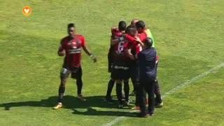 GOLO! SC Olhanense, Tarantini (p.b.) aos 24', SC Olhanense 1-0 Rio Ave FC